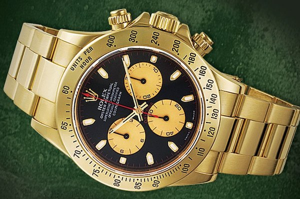 Yellow Gold Rolex Daytona PN Dial