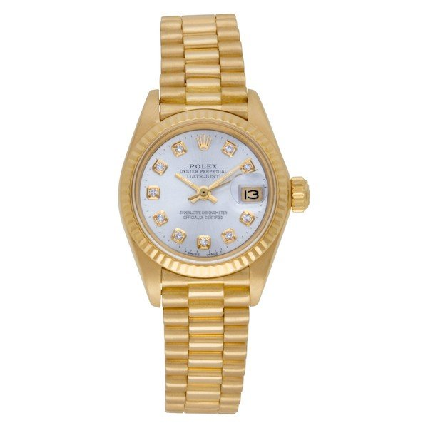 Ladies Rolex Watch: Datejust Presidential ref. 6927