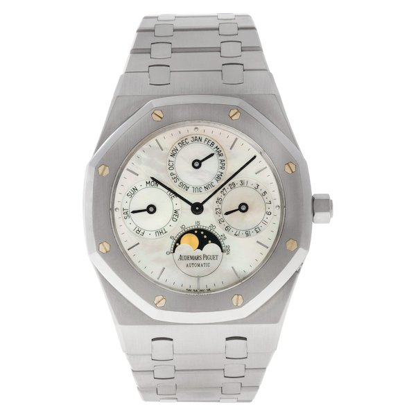 Men's Stainless Steel Audemars Piguet Royal Oak Perpetual Calendar