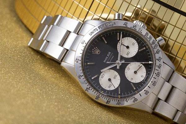 Vintage Rolex Daytona chronographs are manual-wound