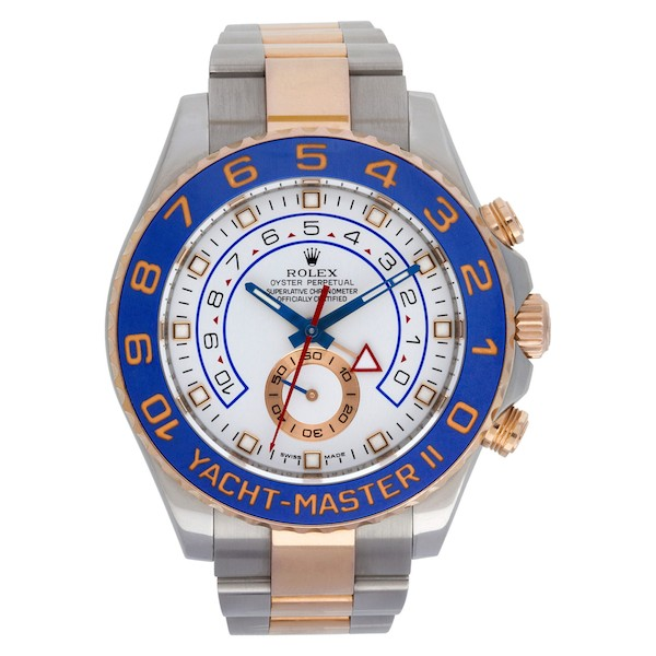 The Rolex Everose Two Tone Yacht-Master II 116681