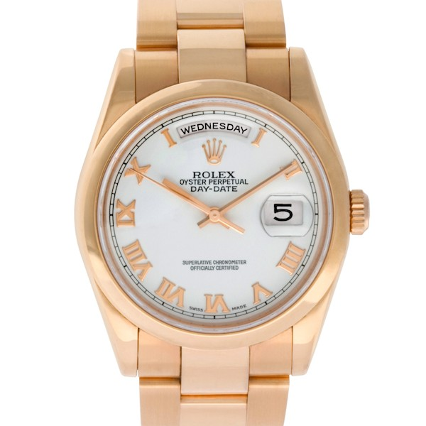 Rose gold Day-Date 36 ref. 118205