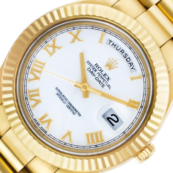Yellow Gold Rolex Day-Date II ref. 218238