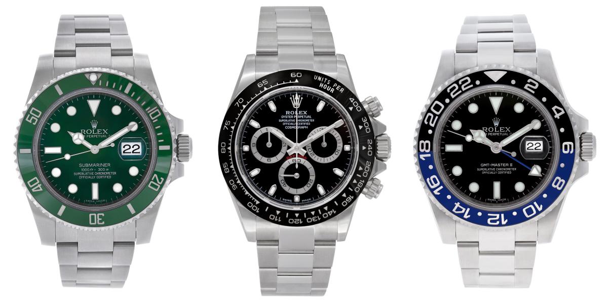 Most Popular Modern Stainless Steel Rolex Watches