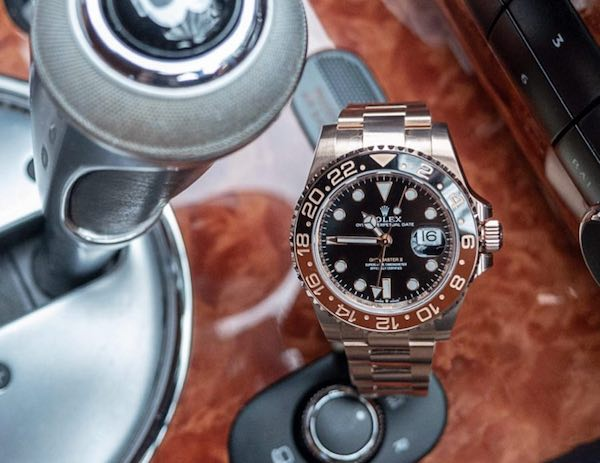 Everose Rolex GMT-Master II 126715CHNR