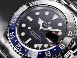 Stainless Steel Rolex GMT-Master II 116710BLNR