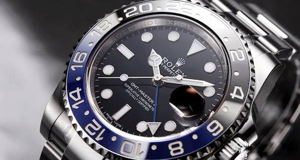 Stainless Steel Rolex GMT-Master II 116710BLNR