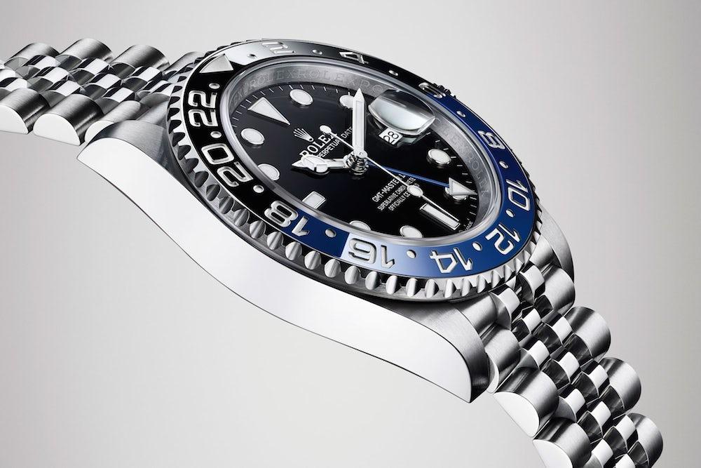 Stainless Steel Rolex GMT-Master II ref. 126710BLNR