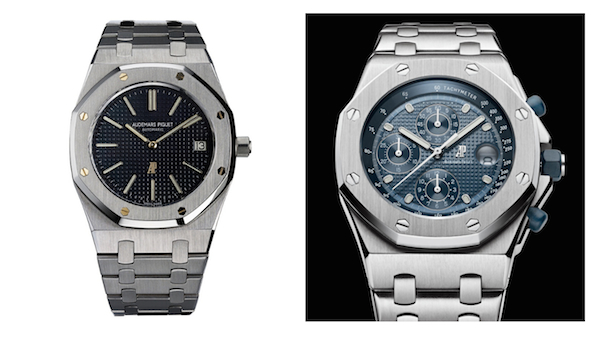 The first Royal Oak from 1972 vs. the first Royal Oak Offshore from 1993