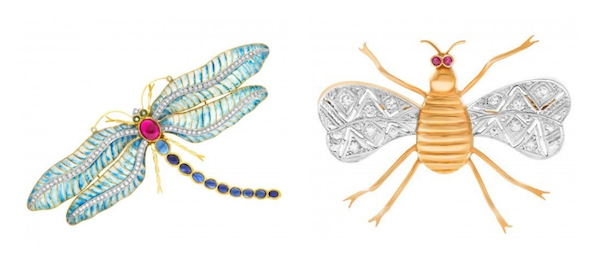 Jewelry Trends Brooch: Dragonfly and Insect Pins