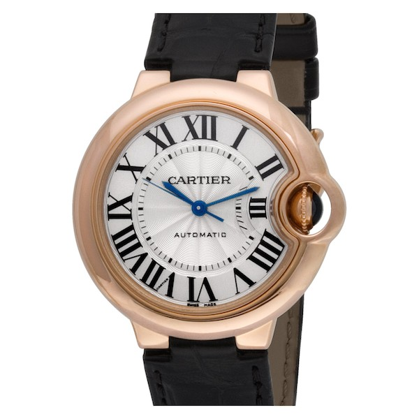 Women's Mechanical Watches: Cartier Ballon Bleu