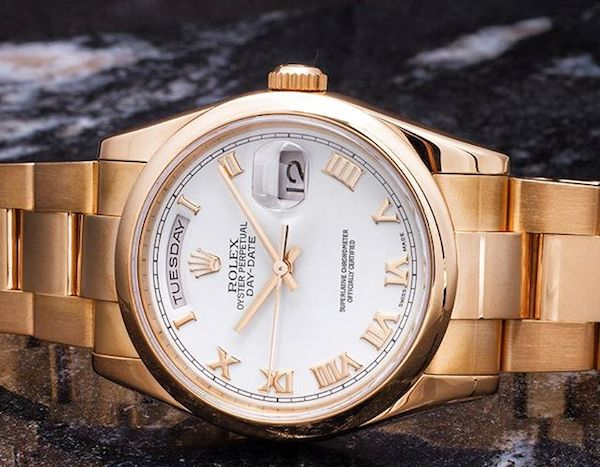 In 2005, Rolex introduced a patented rose gold alloy called Everose