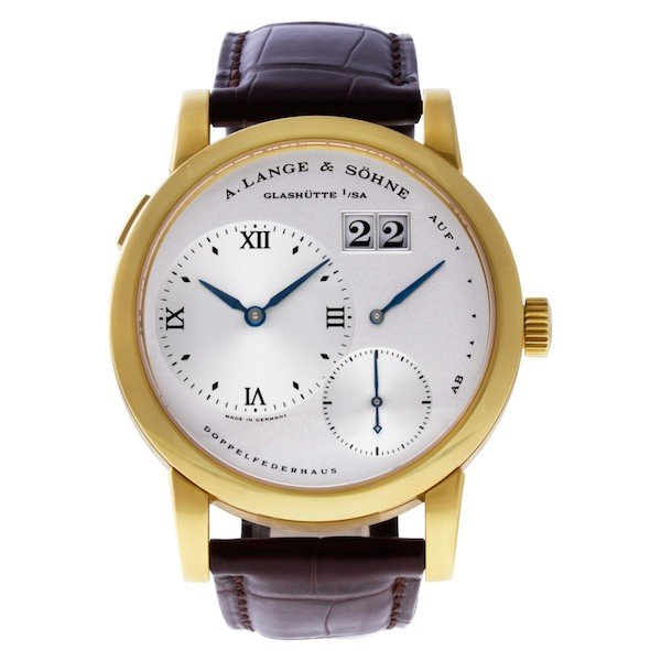 A. Lange & Söhne Yellow Gold Lange 1 ref. 101.022