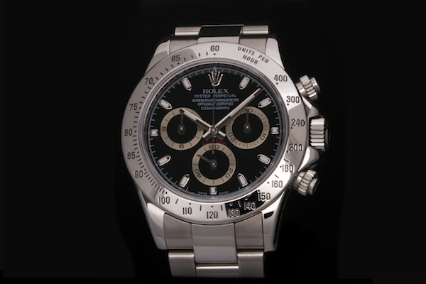 Stainless steel Daytona ref. 116520