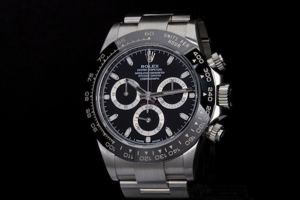 Stainless steel Daytona ref. 116500LN with Cerachrom bezel