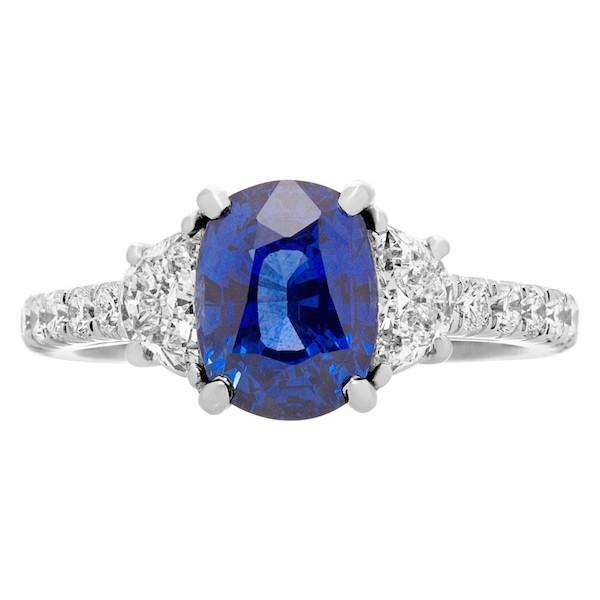 September Sapphire Birthstone Jewelry: Madagascar Sapphire Ring