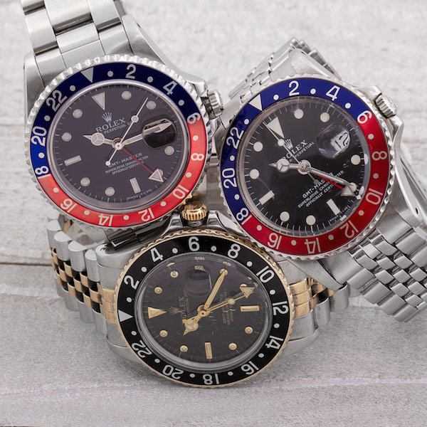 The GMT-Master came to an end in 1999 finally replaced entirely by the GMT-Master II