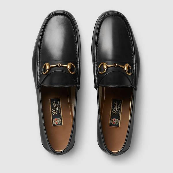 Gucci loafers with the Horsebit motif