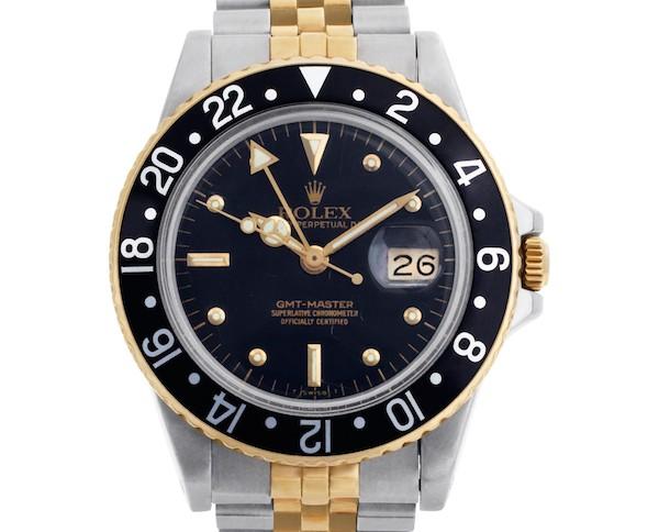 Two-tone Rolex GMT-Master ref. 16753
