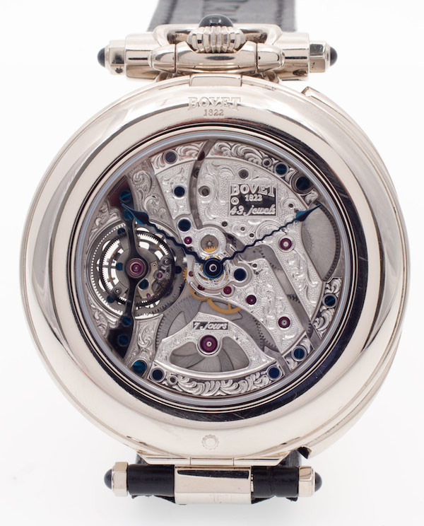 Bovet Fleurier 46 Tourbillon Orbis Mundi Amadeo Movement