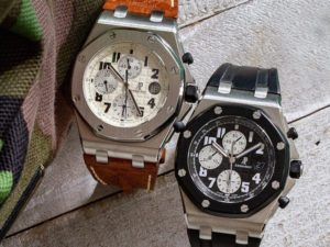 Two Popular Audemars Piguet Royal Oak Offshore Watches