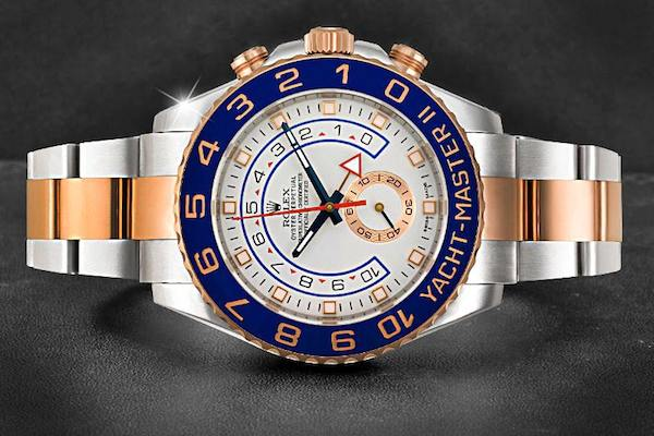The Yacht-Master II is one of Rolex's youngest collections