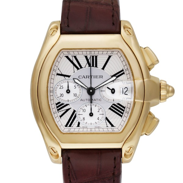 Tonneau Watches: Cartier Roadster XL Chronograph