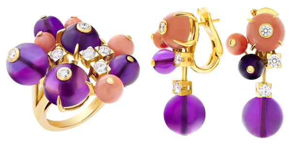 Cartier Délices de Goa Ring & Earrings