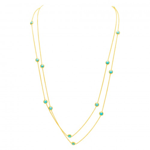 December Birthstone Jewelry: Ippolita Turquoise Necklace