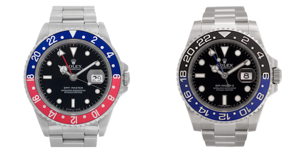 What's the Difference between the GMT-Master and the GMT-Master II
