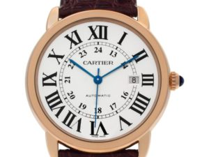 Pink Gold Cartier Ronde Solo W6701009