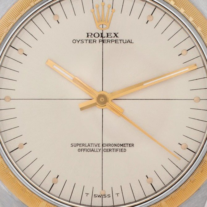 The Rolex Zephyr Dial