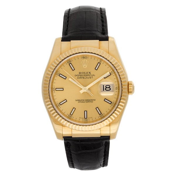 Yellow Gold Rolex Datejust 36