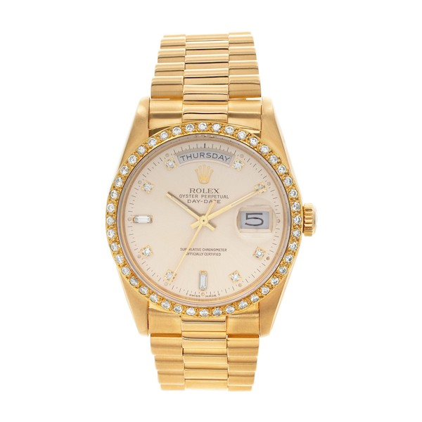 Yellow Gold Rolex Day-Date 36 President