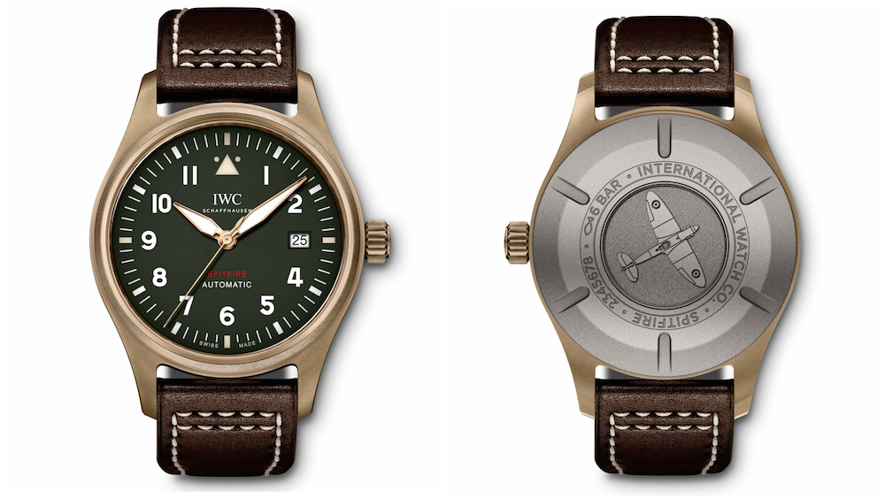 Best of SIHH 2019: IWC Pilots Watch Spitfire Automatic