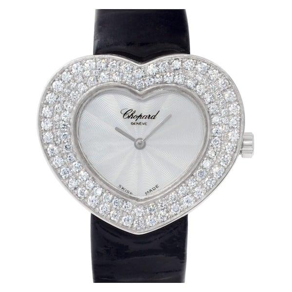 Chopard Diamond Heart Watch