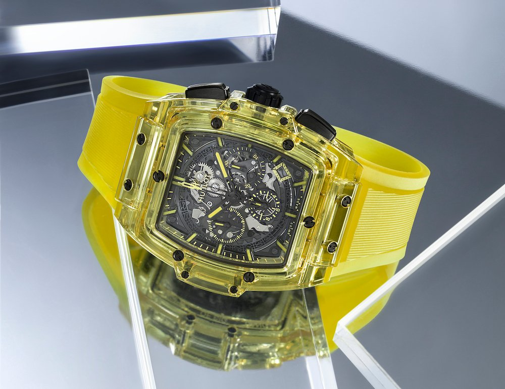 Geneva Days 2019: Hublot The Spirit of Big Bang Yellow Sapphire