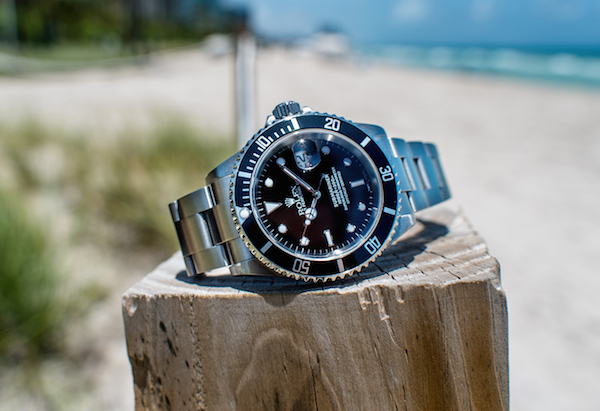 Steel Rolex Submariner Date 16610