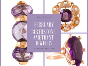 February Birthstone Amethyst Jewelry