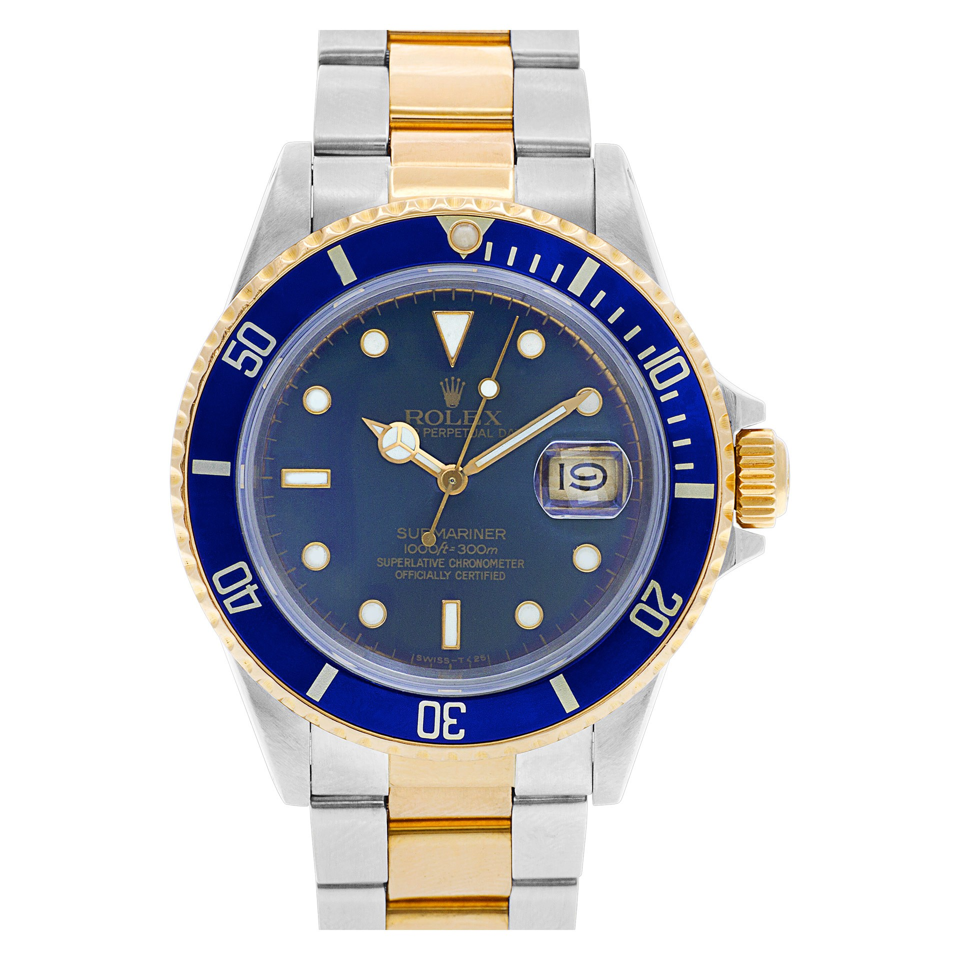 The Submariner ref. 16803 was the first two-tone Submariner