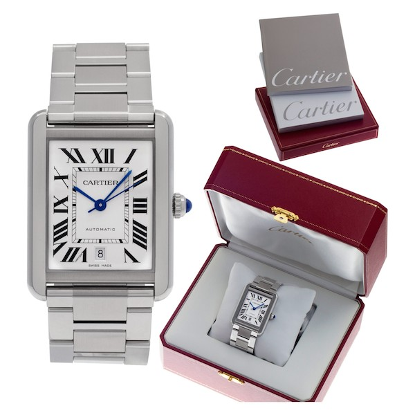 Unisex Watches: Cartier Tank Solo