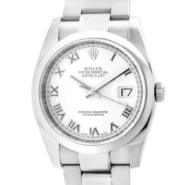Unisex Watches: Steel Rolex Datejust 36