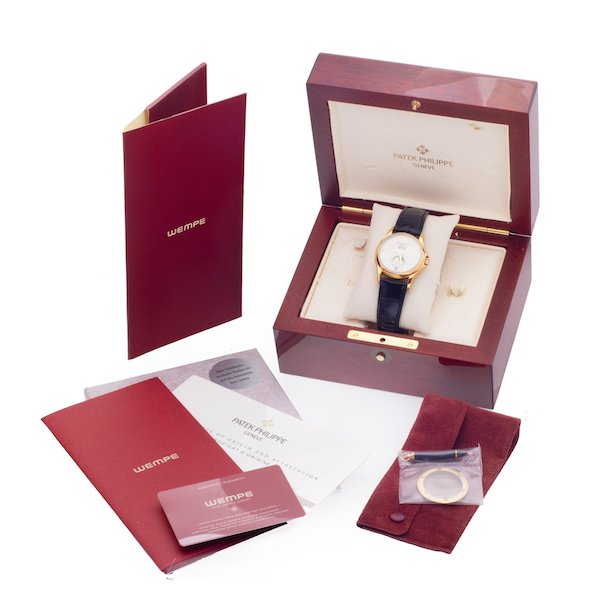 Patek Philippe Annual Calendar Wempe 125th Anniversary 5125J full set