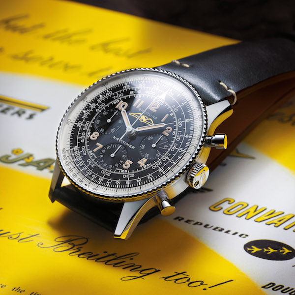 New for 2019: Breitling Navitimer Ref. 806 1959 Re-Edition
