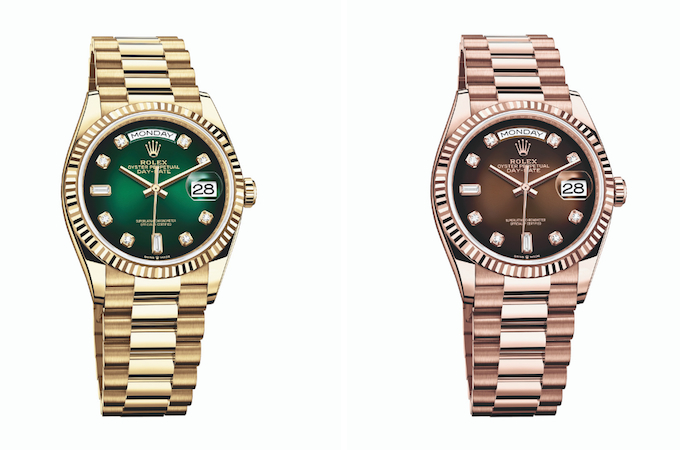 The Hottest New Women's Watch Releases From Baselworld 2019: Rolex Day-Date 36