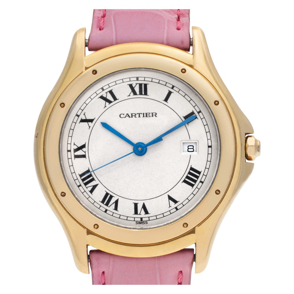 Colorful Luxury Watches for Mom: Cartier Cougar