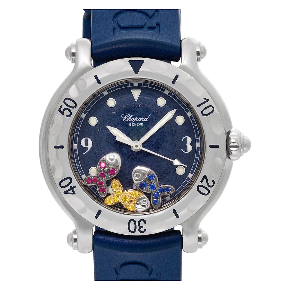 Colorful Luxury Watches for Mom: Chopard Happy Sport