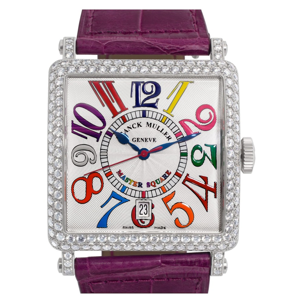 Colorful Luxury Watches for Mom: Franck Muller Master Square