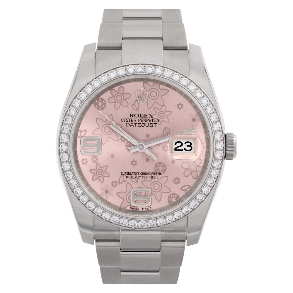 Colorful Luxury Watches for Mom: Rolex Datejust