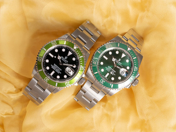 Green Rolex Submariners